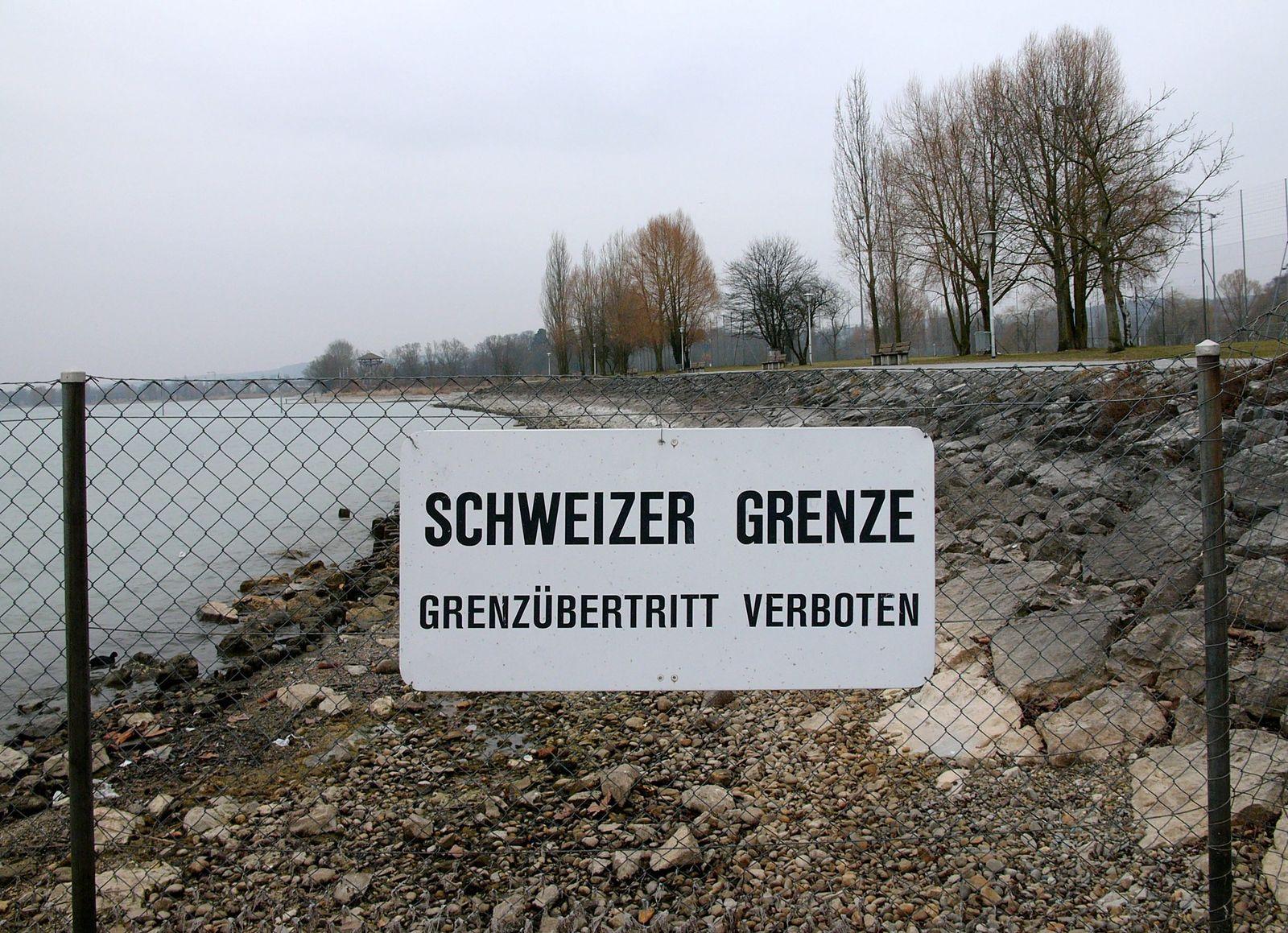 Schweiz Grenze