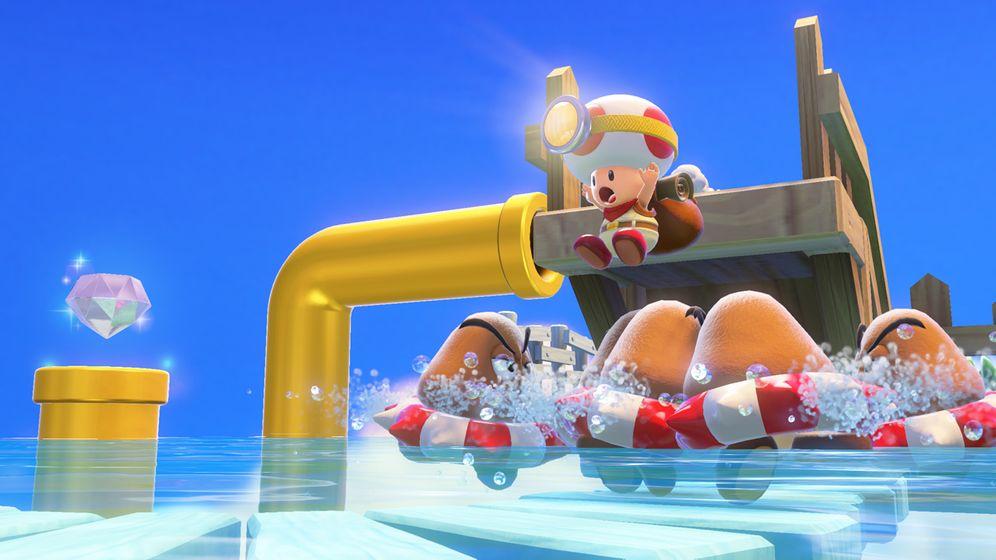 """Wii-U-Spiel im Test: So niedlich sieht """"Captain Toad: Treasure Tracker"""" aus"""
