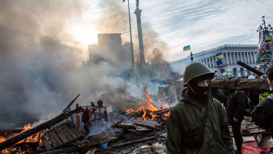 Maidan-Protest im Februar 2014