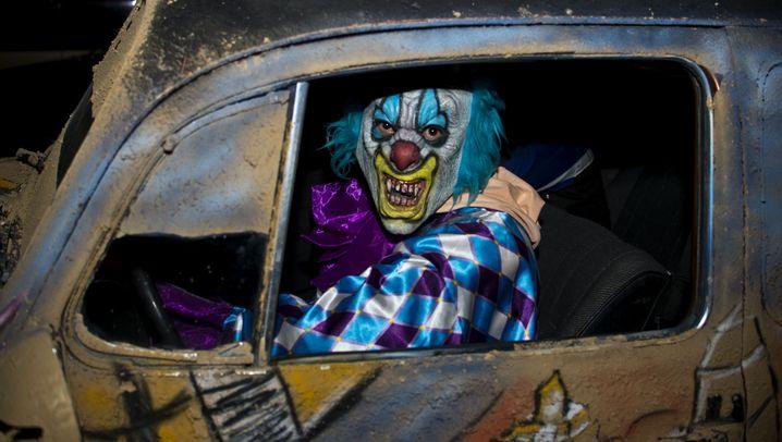 Böse Clowns in Frankreich: Angst und Schrecken