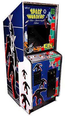 Space-Invaders-Spielautomat: ein Spielhallen-Klassiker