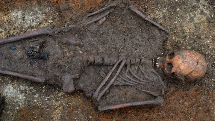 Archäologie: Begraben auf einem Holzbett