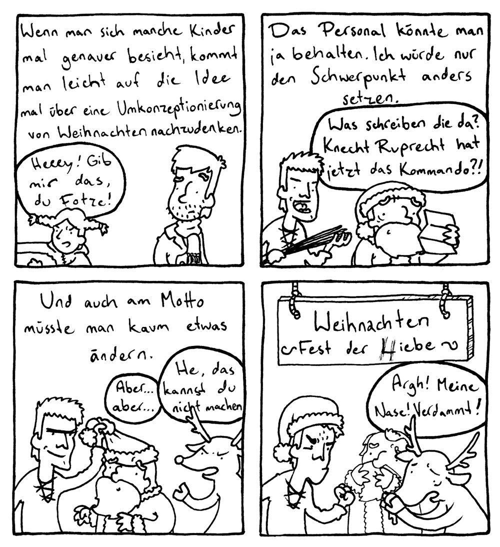 EINMALIGE VERWENDUNG Comic-Adventskalender 2011 - Dominik Wendland