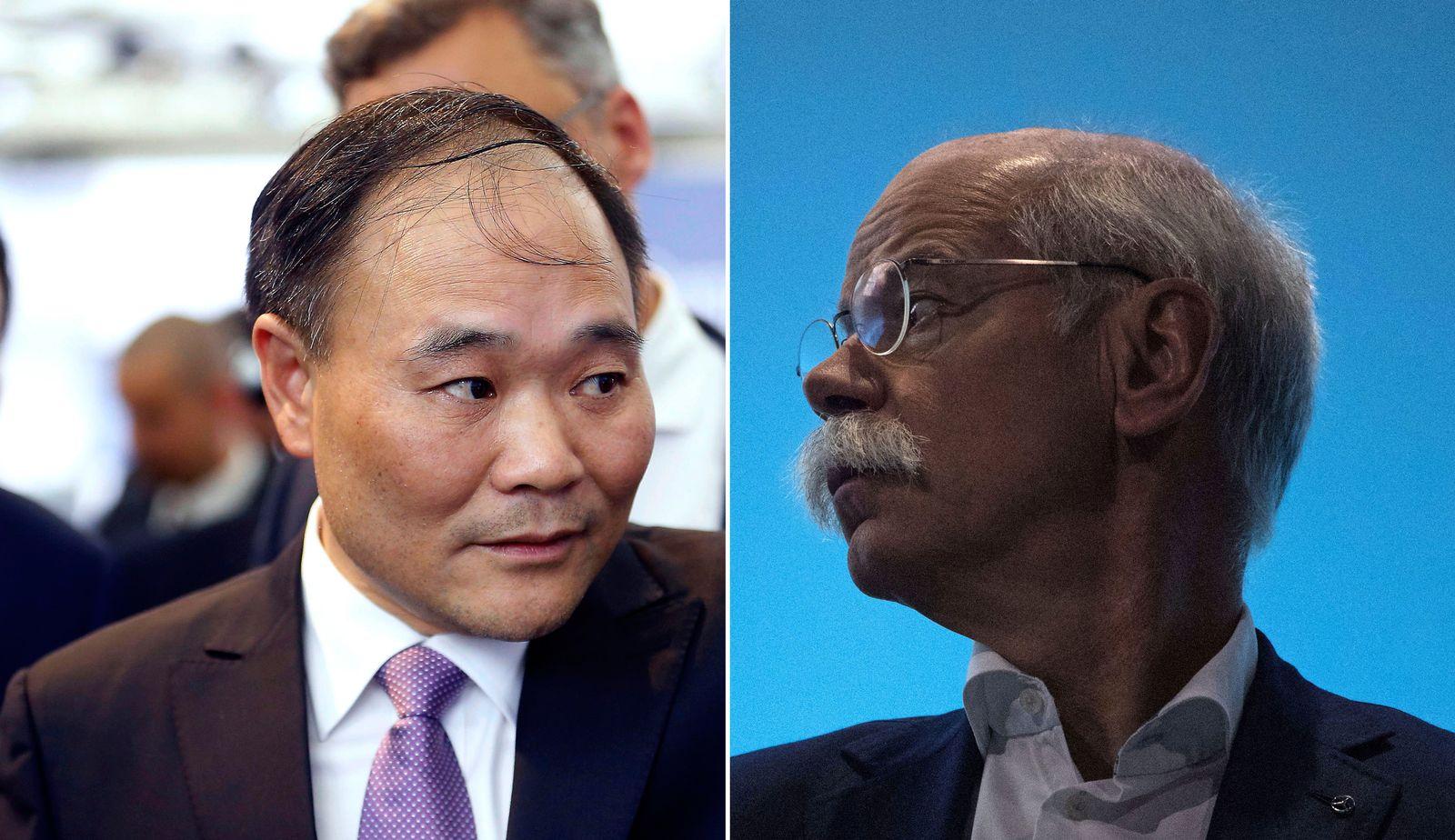 KOMBO Li Shufu / Dieter Zetsche