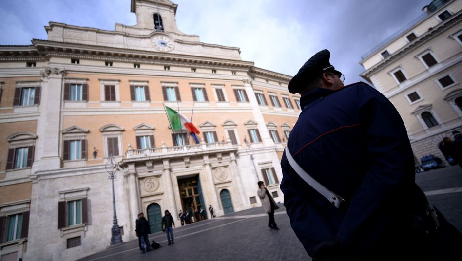 Sitz des Parlaments in Rom