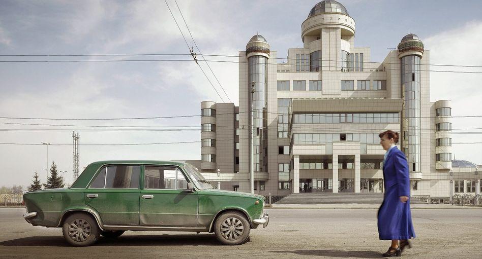 Polizeigebäude in Kasan, Russland, 2011