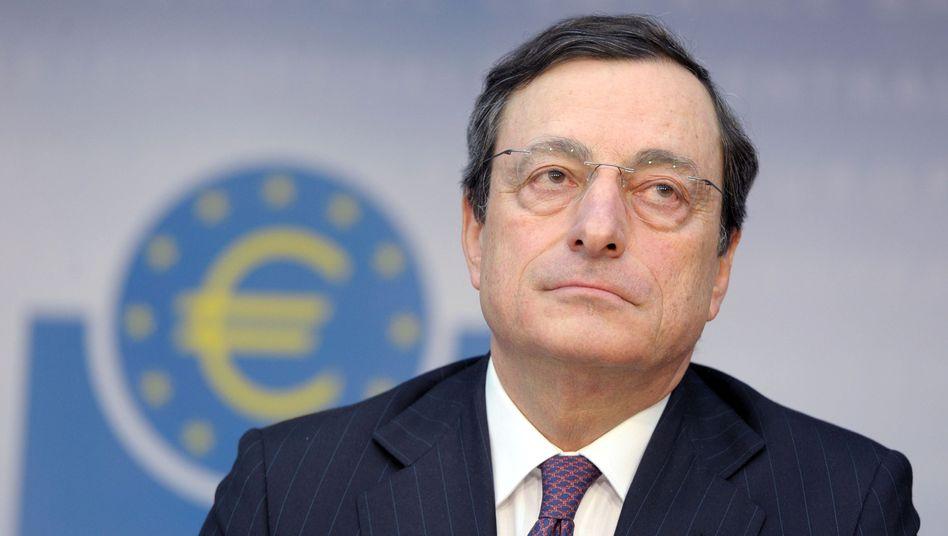 EZB-Chef Draghi: Am schwächsten Glied der Kette orientieren