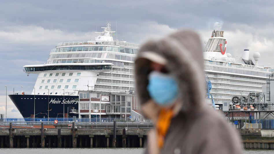 """TUI-Kreuzfahrtschiff """"Mein Schiff 3"""" in Cuxhaven: Ausbleibende Buchungen"""