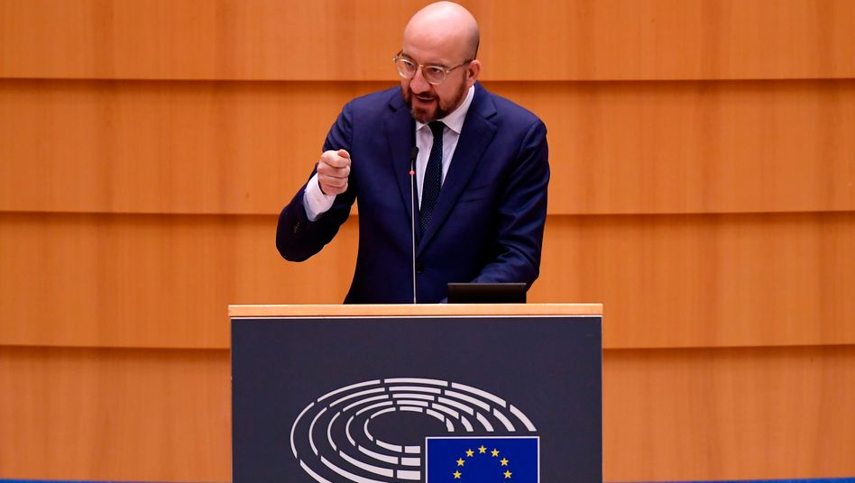 EU-Ratspräsident Charles Michel: »Heute ist eine Gelegenheit, unsere transatlantische Beziehung, die in den letzten vier Jahren sehr gelitten hat, zu verjüngen«