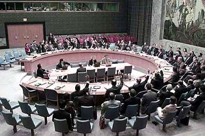 New York: Der Uno-Sicherheitsrat