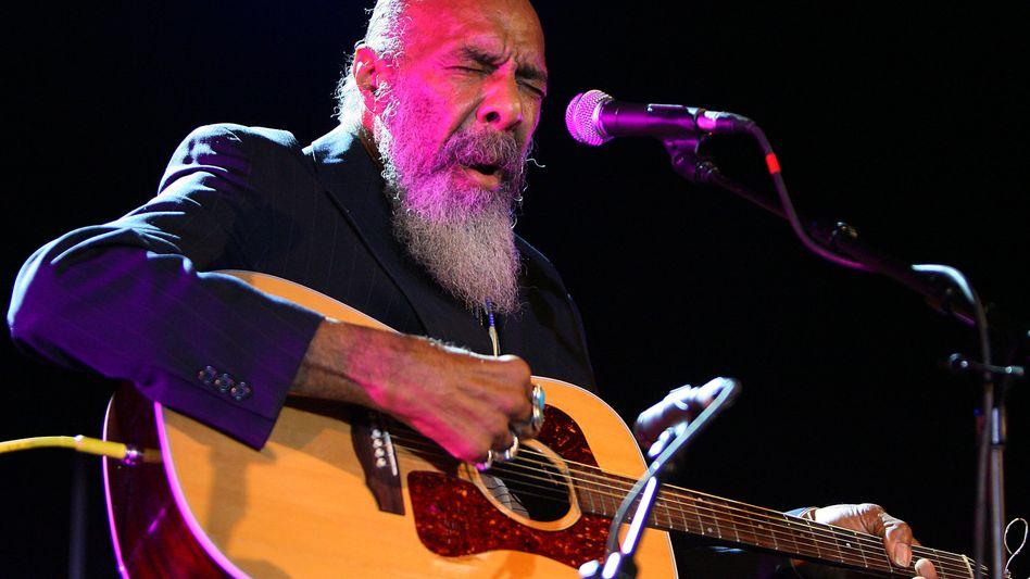 """Sänger und Gitarrist Havens (im Juni 2009 in New York): """"Freedom"""""""