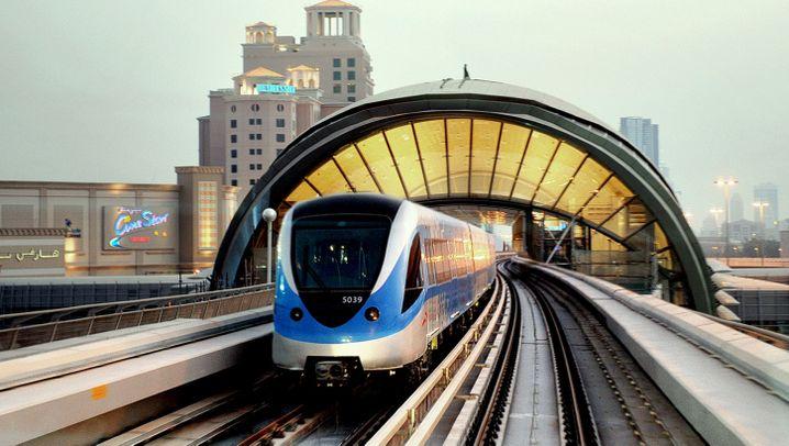 Metro in Dubai: Stadtbahn im Emirat