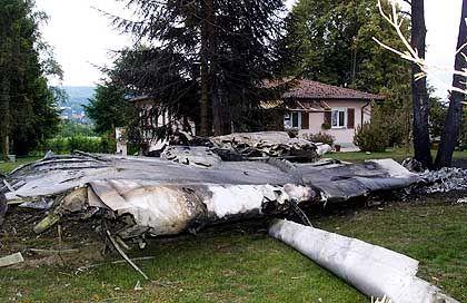 Tupolew-Trümmer: Wie durch ein Wunder wurden am Boden keine Menschen verletzt