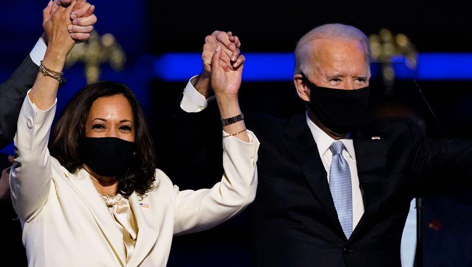 Joe Biden und Kamala Harris: Die Erwartungen sind hoch