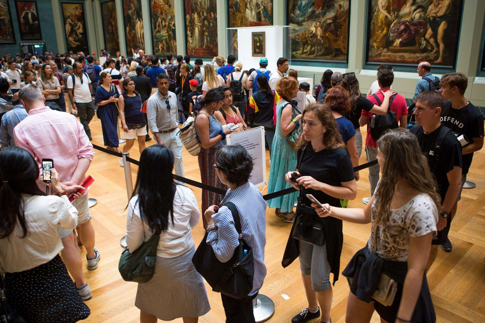 EINMALIGE VERWENDUNG Mona Lisa