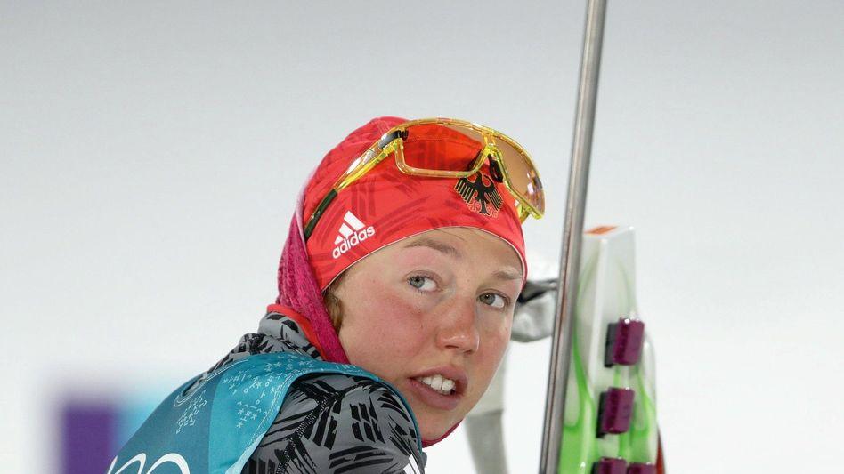 Olympiasiegerin Dahlmeier: »Ihr wärt erstaunt, wie das überhaupt möglich war, heute zu gewinnen«