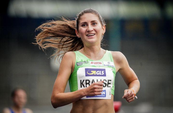 Gehört zu den Besten der deutschen Leichtathletik: Gesa Krause