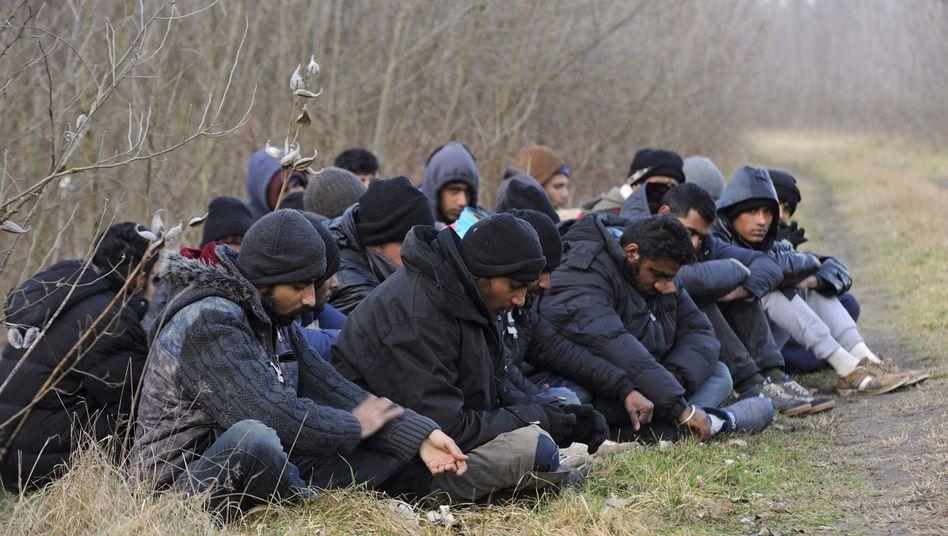 """Flüchtlinge an der serbisch-ungarischen Grenze: """"Wer in Europa offene Grenzen erhalten will, muss auch Grenzen schließen können"""""""