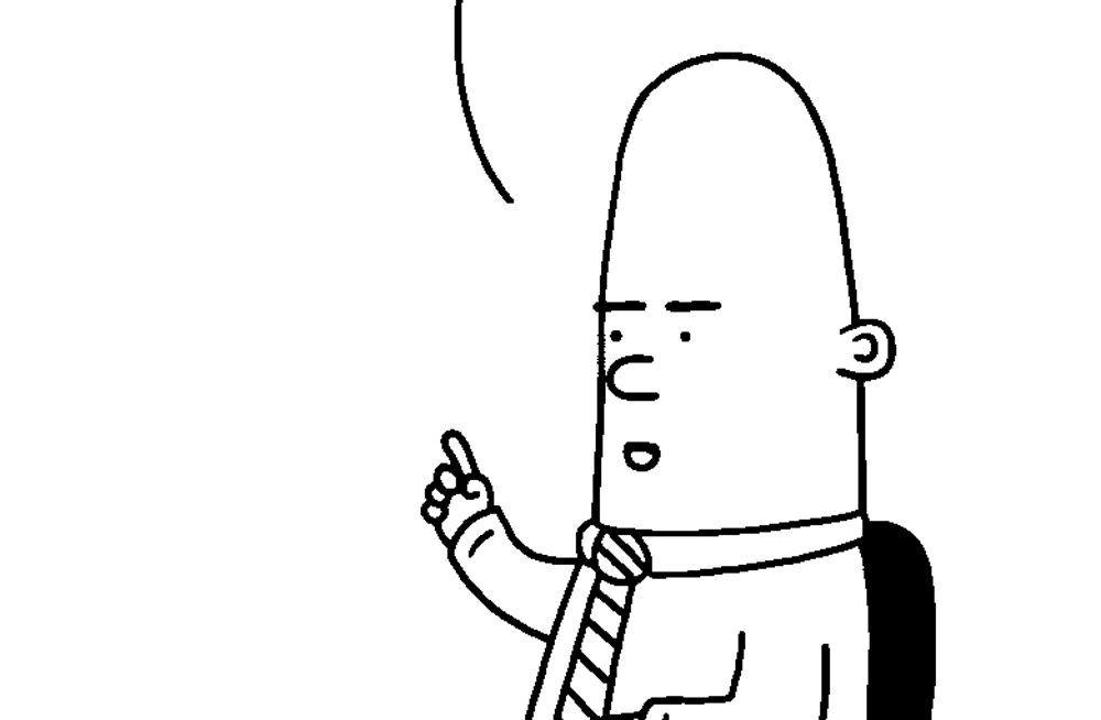 EINMALIGE VERWENDUNG KaSP Scott Adams / Dilbert Figur