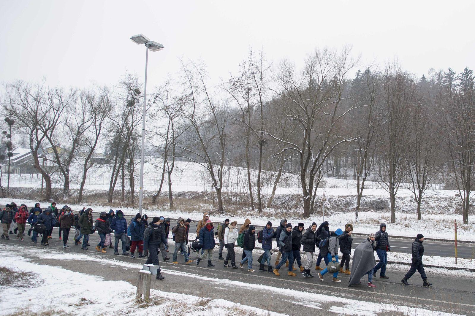 SLOVENIA-EUROPE-MIGRANTS