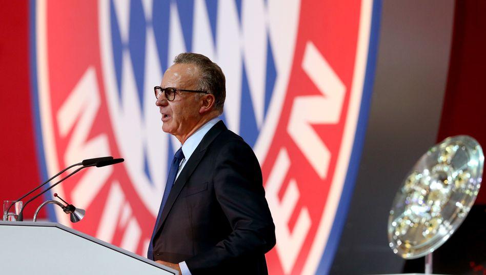 Bayern-Chef Karl-Heinz Rummenigge