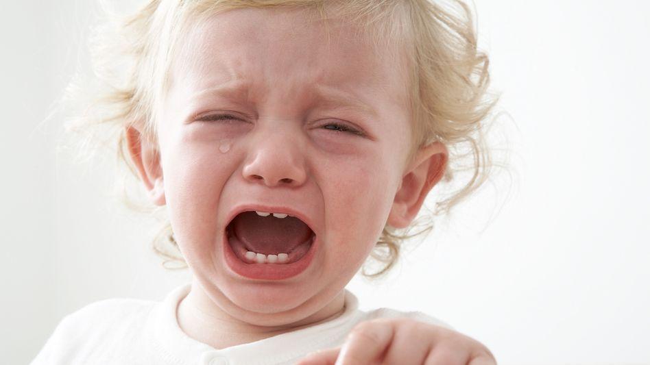 Weinendes Kleinkind: Der Schlaf kommt nicht auf Knopfdruck
