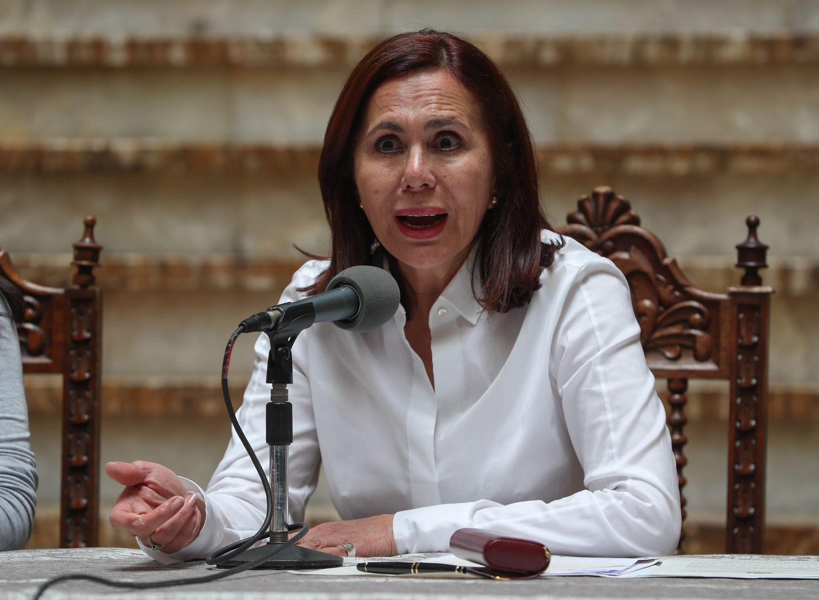Karen Longaric Bolivien