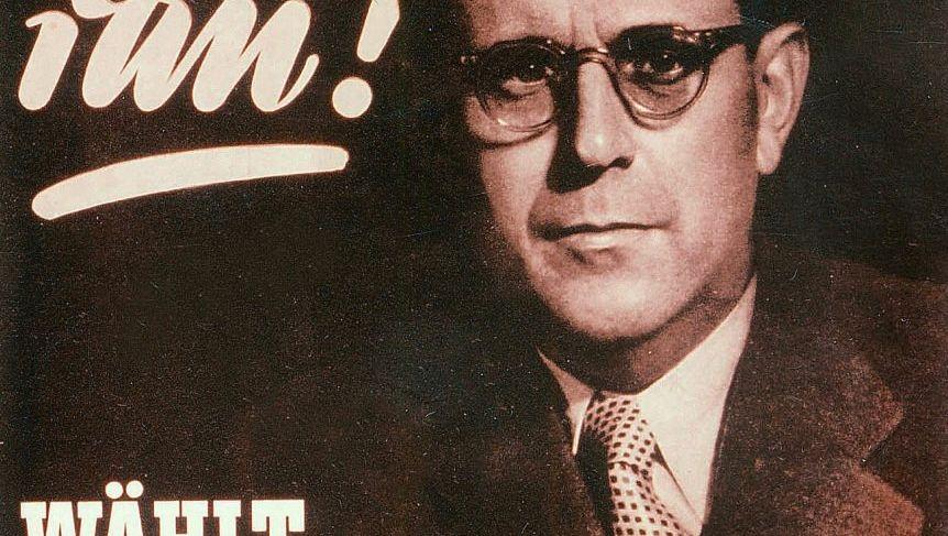 Wahlplakat 1953