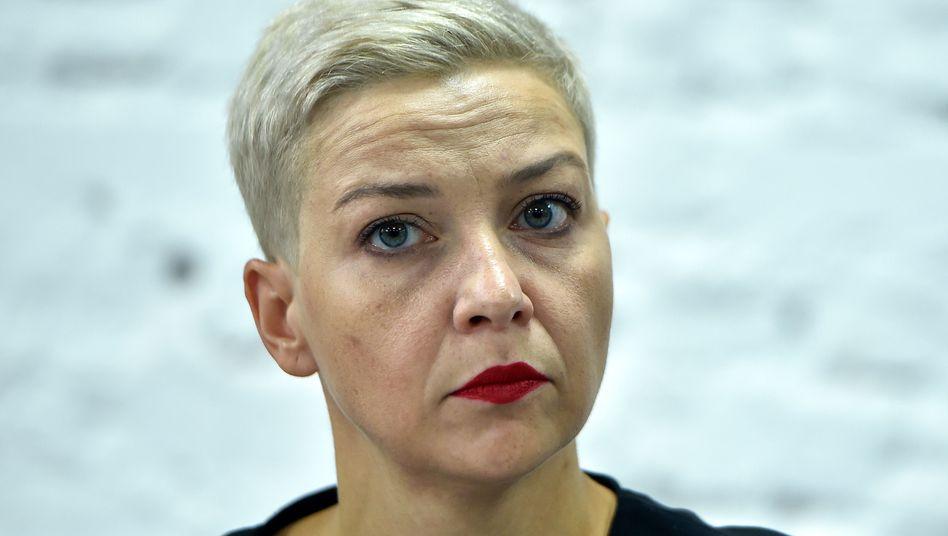 Um den Verbleib der Oppositionsführerin Kolesnikowa hatte es Verwirrung gegeben