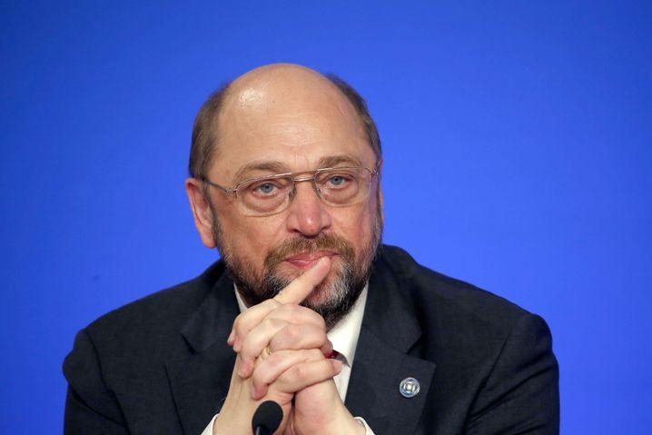 """Martin Schulz, Präsident des Europäischen Parlaments: """"Kühlen Kopf bewahren"""""""