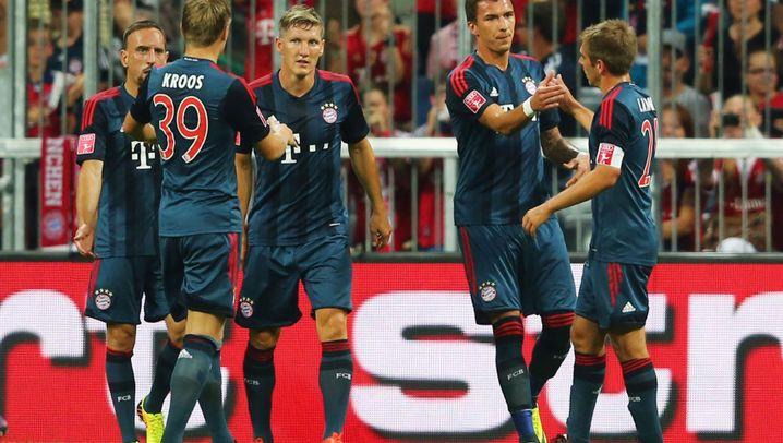 Audi Cup: Bayern zieht ins Finale ein