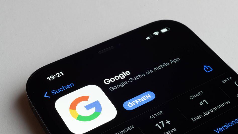 Google-Suche auf dem Smartphone: In der Vergangenheit hatte sich das Unternehmen gegen Konkurrenz gesträubt