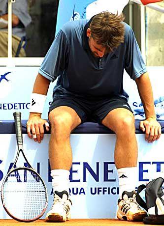 """Nicolas Kiefer nach der Niederlage beim Masters-Turnier in Rom: """"Ich brauche ein bisschen mehr Glück, das ist alles"""""""