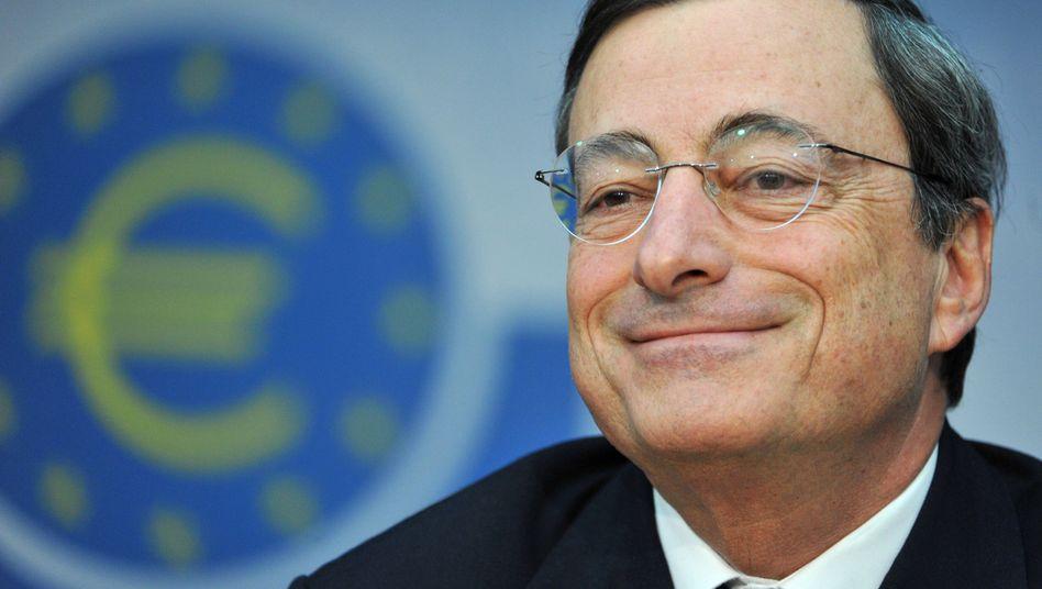 """EZB-Chef Draghi: """"Das fällt in unser Mandat"""""""