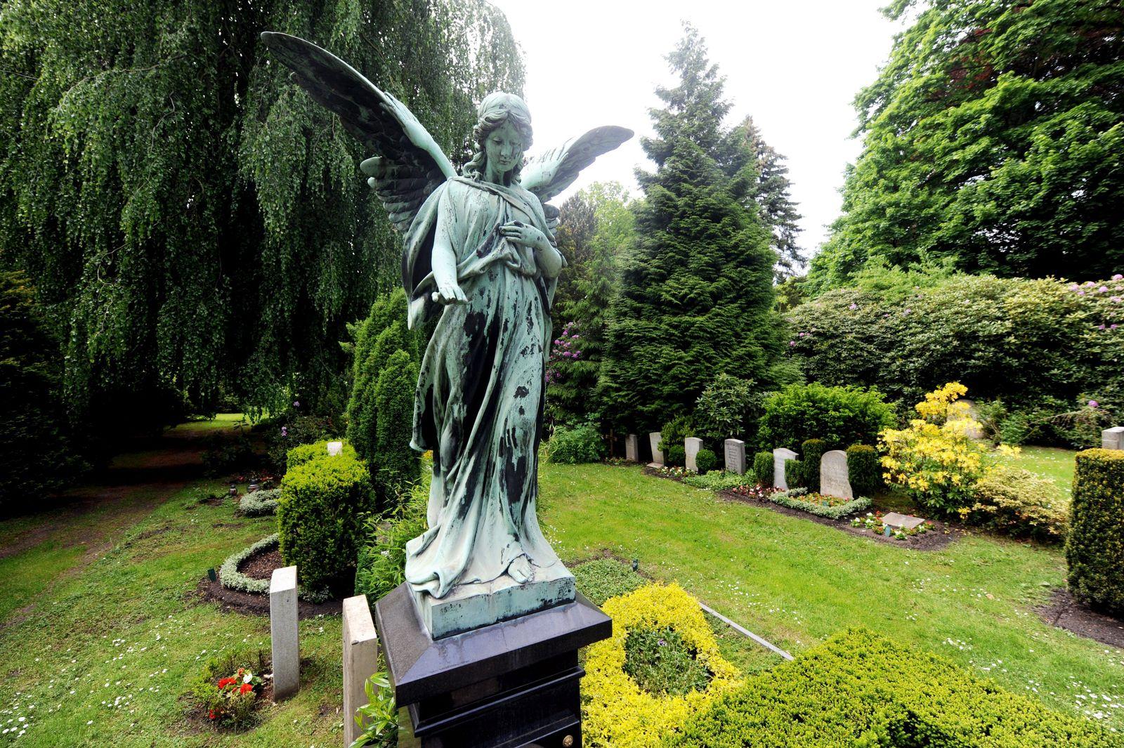 Friedhof Ohlsdorf in Hamburg