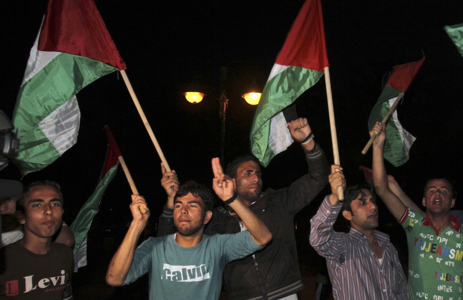 Palästinenserjubel