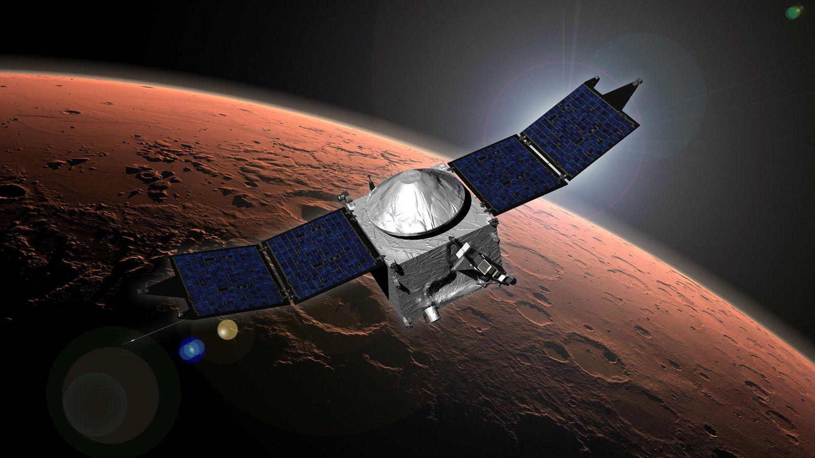 Mars/ US-Sonde/ Maven