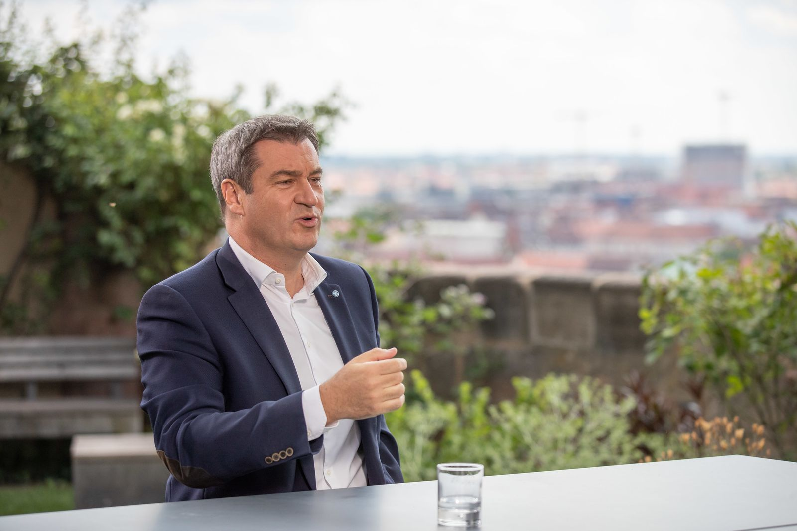 ZDF-Sommerinterview mit CSU-Chef Söder