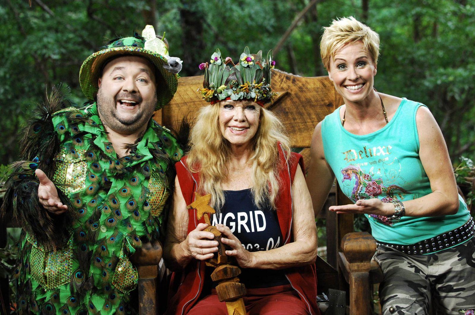 NUR FÜR SPAM Ingrid van Bergen ist neue Dschungel-Königin