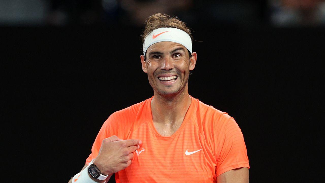 Australian Open: Nadal sieht den Mittelfinger und bleibt cool - DER SPIEGEL