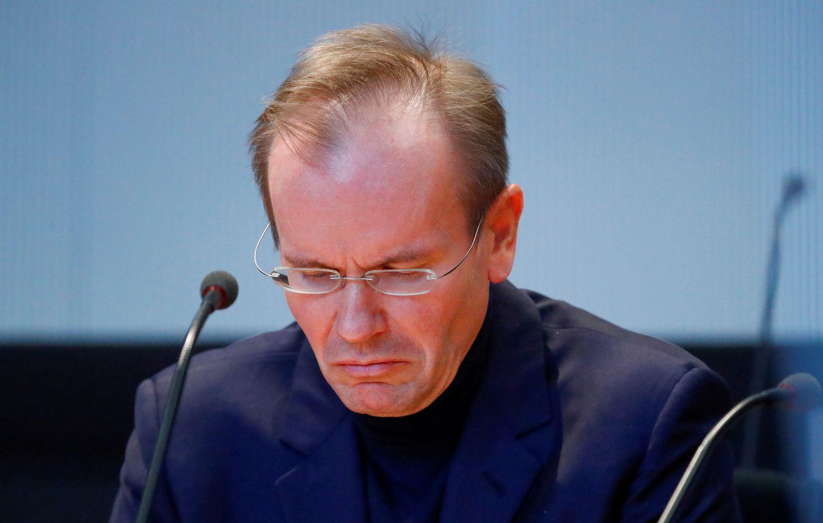 FILE PHOTO: Former Wirecard CEO testifies before German parliamentary committee in Berlin