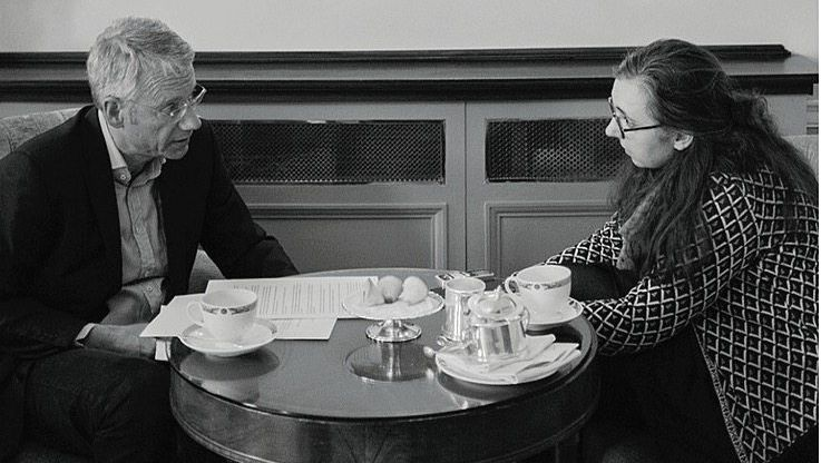 Redakteur Doerry, Bloggerin Hingst: Die beiden trafen sich am 23. Mai in Dublin