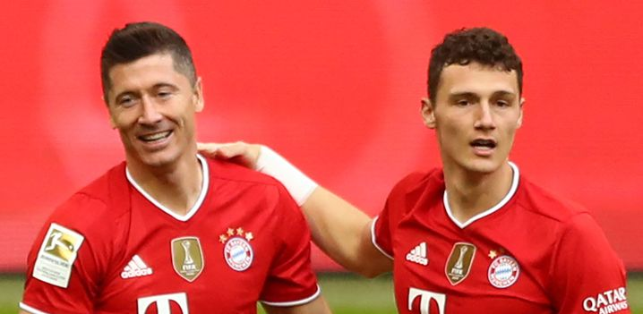Robert Lewandowski and Benjamin Pavard: the best attacker and the best defender of the day