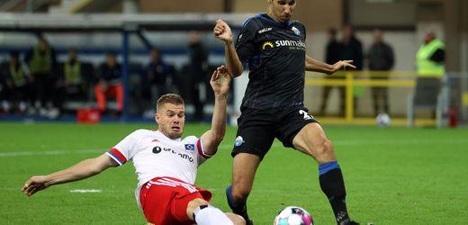 2. Bundesliga: Hamburger SV siegt gegen SC Paderborn und übernimmt Tabellenführung