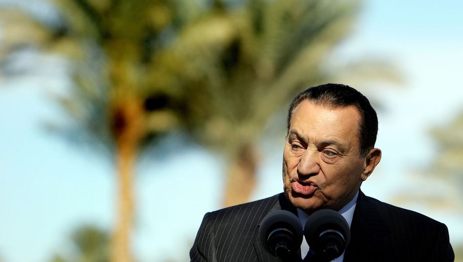 Egyptian President Hosni Mubarak resigned on Friday and left Cairo for his family villa in Sharm el-Sheikh.