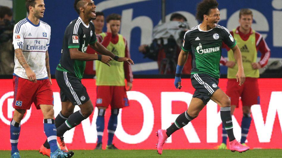 Schalke-Stürmer Sané: Drei Tore in einer Woche