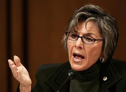 Streitbare Senatorin: Barbara Boxer