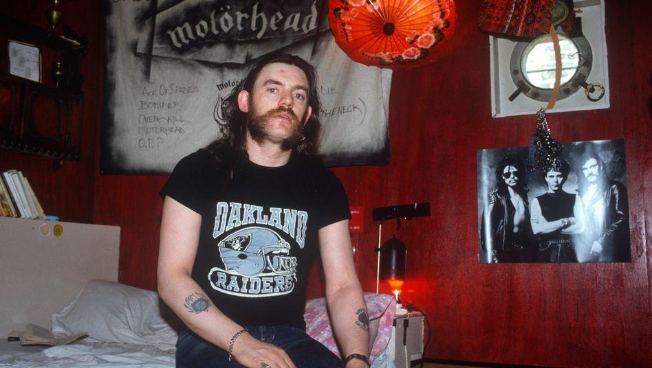 Lemmy Kilmister, Frontmann der Band Mot??rhead: Wodka mit Orangensaft statt Whiskey