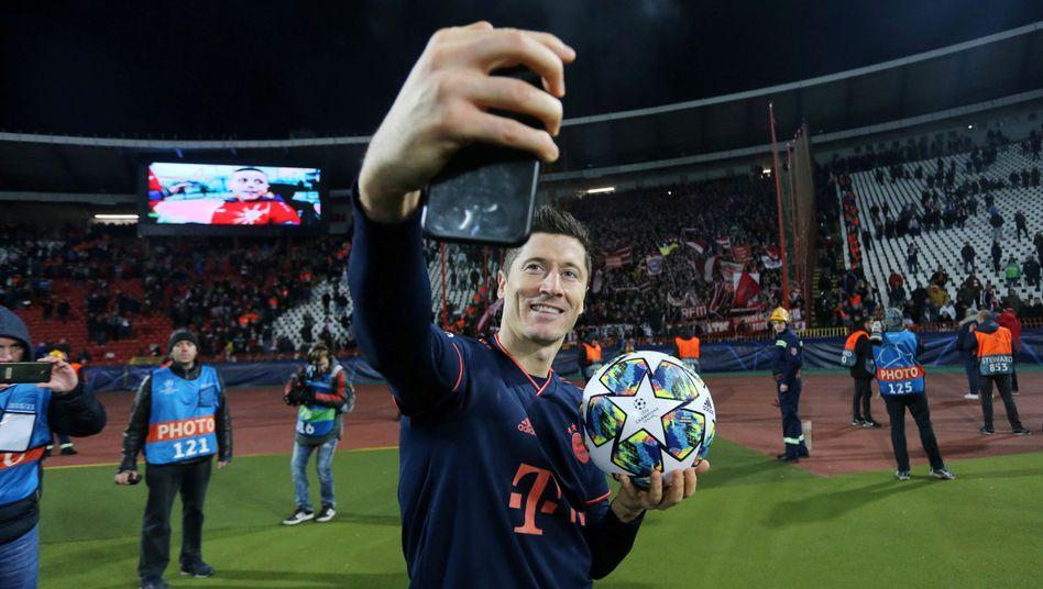 Bayerns Robert Lewandowski
