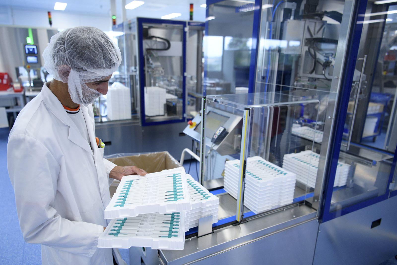 Arzneimittelherstellung bei Merck